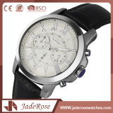 El reloj impermeable más nuevo del hombre del acero inoxidable de la manera