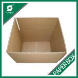 Caixa de transporte de papel de empacotamento lisa da caixa