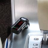MP3 de audioLCD van de Uitrusting van de Auto van de Modulator van de FM van de Zender van de Auto van de FM van Bluetooth van de Speler Draadloze Handsfree Lader van de Vertoning USB