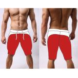Athletische kundenspezifische Mens-Sportkleidung-Polyester-Trainings-Gymnastik-Kurzschlüsse