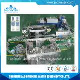 Planta de engarrafamento completa da água bebendo com a máquina de etiquetas principal dobro