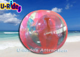 PVC耐久のジッパーが付いている透過膨脹可能な水球