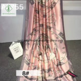 Madame estampée 2017 90*180cm la plus neuve Silk Scarf de mode de châle