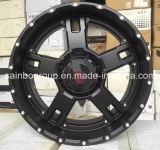 L'alliage noir de véhicule de maquettes chaudes de sport de Matt 4X4 SUV roule des RIM