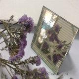 10 mm + seda + 5 mm de espejo de oro personalizado vidrio de arte / vidrio templado / vidrio de seguridad para la decoración
