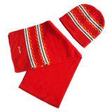Niños sombrero de los modelos que hacen punto y bufanda (JRK104)