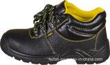 Fachmann aufgespaltete geprägtes Leder-Sicherheits-Schuhe, hoher Knöchel