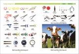 マルチ乳首を搭載する8頭の子牛動物挿入のバケツのためのミルク棒