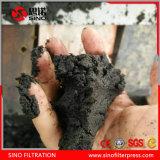 Macchina d'asciugamento della cinghia della filtropressa di trattamento resistente poco costoso del fango