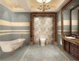 tuile rustique de mur glacée par 600*600mm de carrelage de tuile de décoration pour le type espagnol de décoration d'hôtel aucune glissade Sh6h008/09
