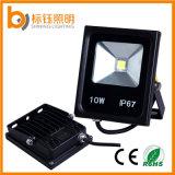L'apparecchio d'illuminazione esterna 10W dimagrisce il proiettore impermeabile della PANNOCCHIA IP67 LED