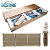 Porta simples de aço combinada três do chuveiro da porta deslizante (BL-F3009)