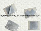 Ткань чистки Microfiber польностью поверхностной печати серая