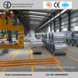 Le zinc de Z40g-Z275g a enduit et a galvanisé la bobine en acier pour la construction de bâtiments