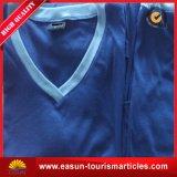 Camiseta del cuello del polo V de la combinación de color del diseño