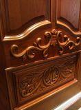 Puerta interior de madera sólida