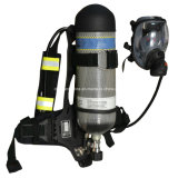 Appareil de respiration à air positif autonome portatif de 6,8 L Pompe d'infusion Scba
