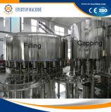 Acqua del rifornimento della fabbrica che risciacqua macchina di coperchiamento di riempimento
