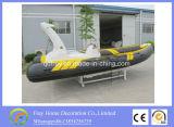 De Boot van de Glasvezel van de Boot van de Sport van Ce 7.3m van China, het Jacht van de Visserij