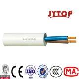 2 fil flexible de câble cuivre du câble 2X0.5mmsq de Rvv de câble de faisceau