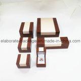 Contenitore di monili di legno Handmade del legno duro dei monili di caso d'avanguardia del pacchetto