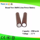 Navulbare IonenBatterij 18650 van Li 3.7V de Fabrikanten van de Batterij Icr18650 van 2500mAh