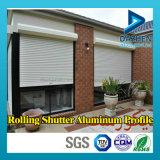 Rolo de alta qualidade Top-seller Perfil Shutter Porta de alumínio