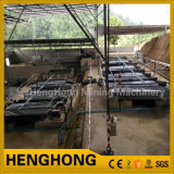 Bergwerksmaschine, die Tisch für alluviale Goldtrennung rüttelt
