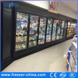 Supermarkt-grosses Kapazitäts-Getränkeglastür-Kühlraum mit berühmtem Kompressor