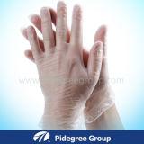 2016 устранимых перчаток руки винила/зубоврачебных перчатки винила/напудренные или перчатки винила порошка свободно