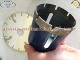 Strumento di ceramica del diamante di Holesaw delle mattonelle del bit di trivello del diamante di Dekton del bit di trivello