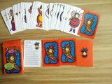 Tarjetas que juegan del juego de tarjeta de Gato de la palmada para los cabritos
