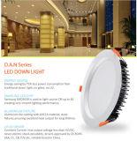 Substituant 150W l'halogène Downlight IP44 DEL enfoncée par 30W Downlight