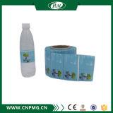Étiquette sensible à la chaleur de chemise de rétrécissement pour des bouteilles d'eau