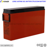 Bateria terminal Telecom 12V 175ah do gel da parte dianteira de bateria de Cspower VRLA