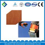 Diped poliéster tejido de hilos para neumáticos para cintas transportadoras