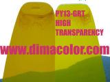 グラビア印刷インク、高い過透性のための有機性顔料の黄色Gr-T (顔料の黄色13)
