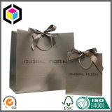 Bolso de compras del papel del color de Cmyk del diseño de la manera para la ropa