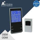 Despertador da tabela de Forcast Digital do tempo de Jjy com temperatura ao ar livre