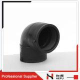 HDPE Chine coude d'ajustage de précision de pipe d'égale de 90 degrés