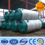 El tanque de almacenaje horizontal de piezas del compresor de aire