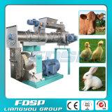 Boulette d'alimentation de volaille et de bétail faite à la machine en Chine