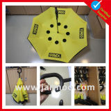 Guarda-chuva quente do reverso do amarelo da venda