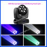 Bewegliches Hauptlicht des Stadiums-LED des Geräten-6PCS*15W LED