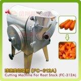 野菜フルーツの波状の立方体のスライス断片の打抜き機FC-312Aを使用して台所用品