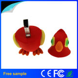 Custom Animal Gift Rubber Cartoon Bird Pendrive 4GB