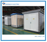 중국 제조자 전원 분배 상자 유형 콤팩트 포장 간이 건축물 변전소