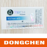 ярлыки пробирки пропионата 100mg/Ml тестостерона 10ml (DC-767)
