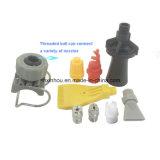 Ventilador em forma de leque do tamanho da braçadeira Dn25 com o bocal molhando industrial da água do pulverizador
