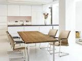 ピンクの現代家具の安い革夕食のレストランの椅子及び学校の椅子及びホテルの家具